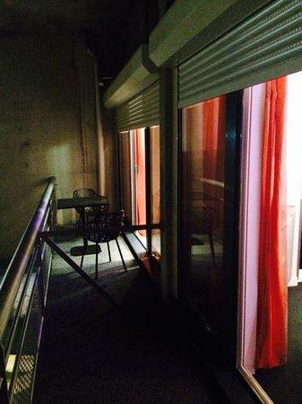 Vatel Hôtel & Spa: le balcon de la suite 512