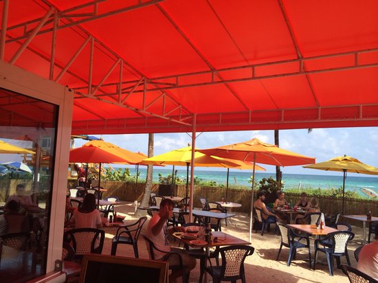 Tahiti Beach Club Restaurant The Place To See And
