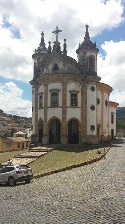 Our Lady of Rosario dos Pretos church : Igreja Nossa Senhora do Rosário e entorno