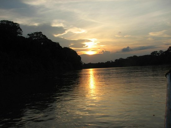 Posada Amazonas: River cruise early morning