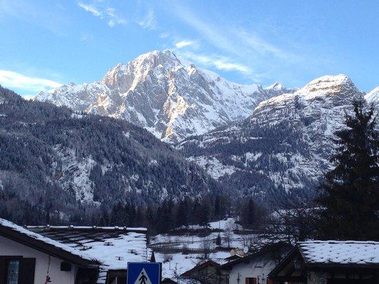Hotel Beau Sejour: Monte Bianco