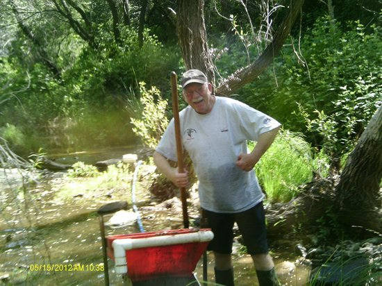 California Gold Panning: The happy Dance