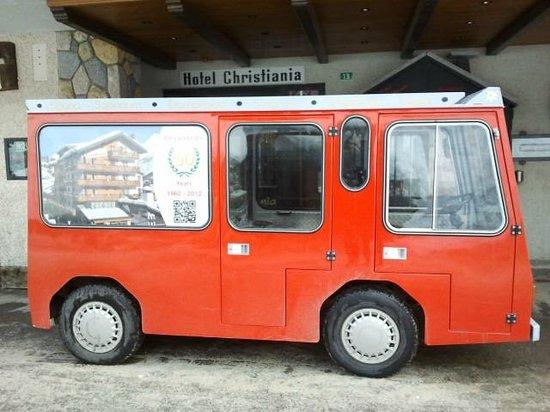 Hotel Christiania: Véhicule électrique pour le transport vers le parking