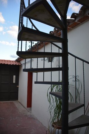 Hotel Los Encuentros: To go up to the roof