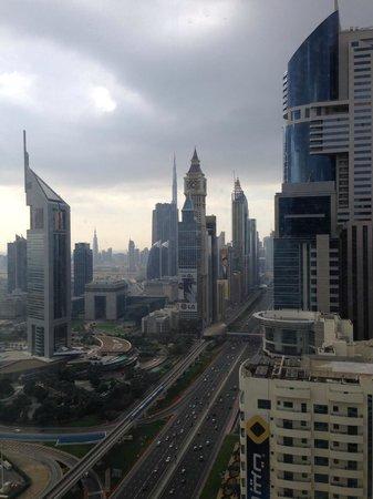 Nassima Royal Hotel: vue de la chambre étage 40 ème