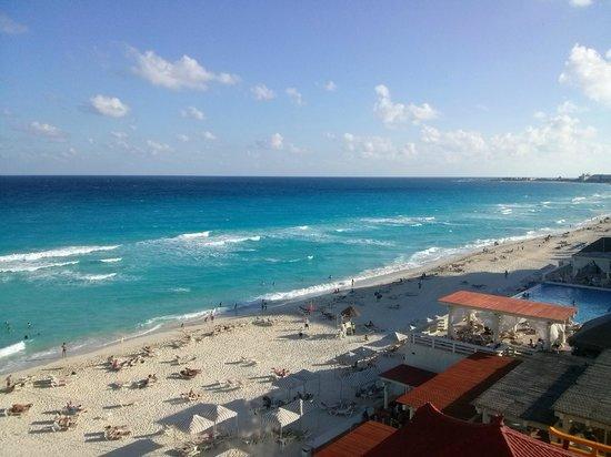 Crown Paradise Club Cancun : La vista desde nuestra habitación