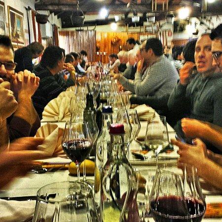 Ca' Giada da Franco: ...splendida tavolata...super compagnia!!