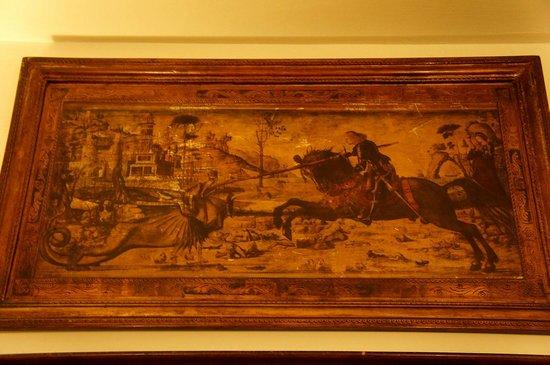 San Giorgio e Olimpic: Картина в холле