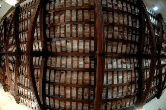 Castello della Rancia : Castello La Rancia Tolentino (MC) - Il soffitto