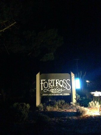 Fort Ross Lodge : This is such an adorable place!