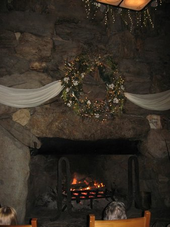 The Omni Grove Park Inn: Fireplace