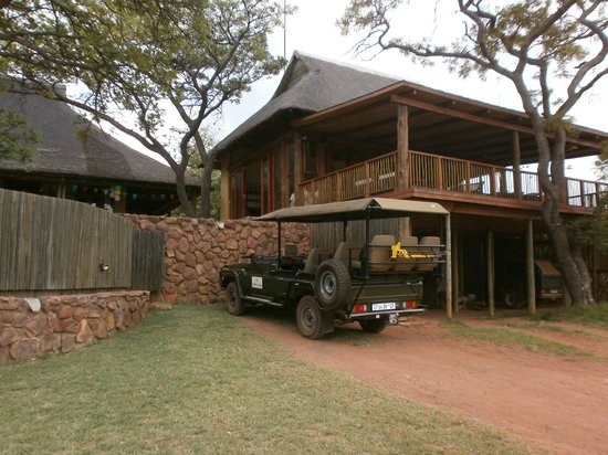 Ekuthuleni Lodge: The Lodge itself