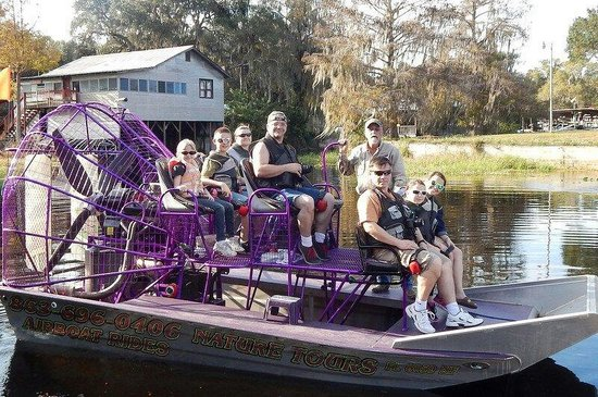 Alligator Cove Airboat Nature Tours: Anticipation's building!