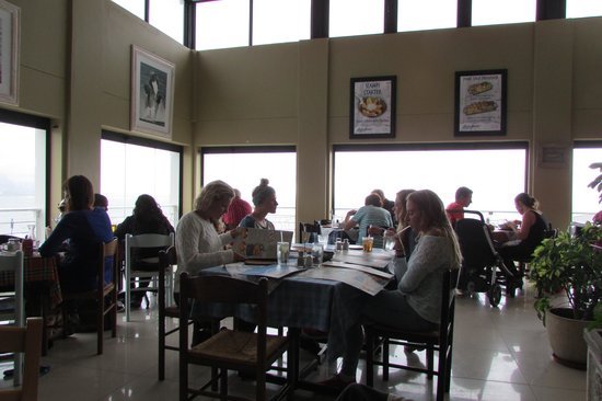 Ocean Basket : In the restaurant