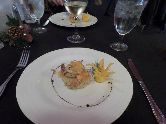 The Savory Faire Food Tour : Shrimp Appetizer