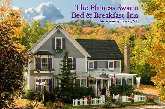 The Phineas Swann is an historic B&B in the middle of Montgomery Center