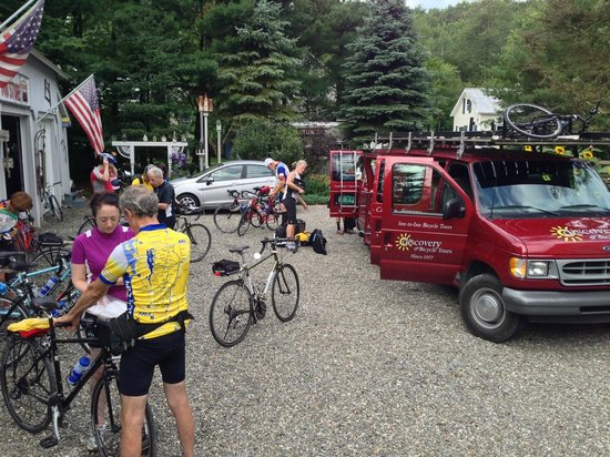 Montgomery Center is the epicenter of touring & cycling in northern Vermont
