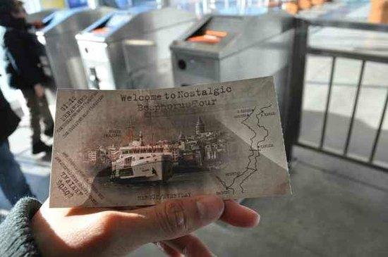 Sehir Hatlari Cruise : Ticket