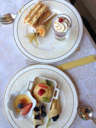 Le Vendome Brasserie: sobremesas