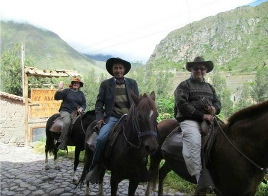Casa de Wow!!!: Tour Horseback Riding - Ollantaytamo