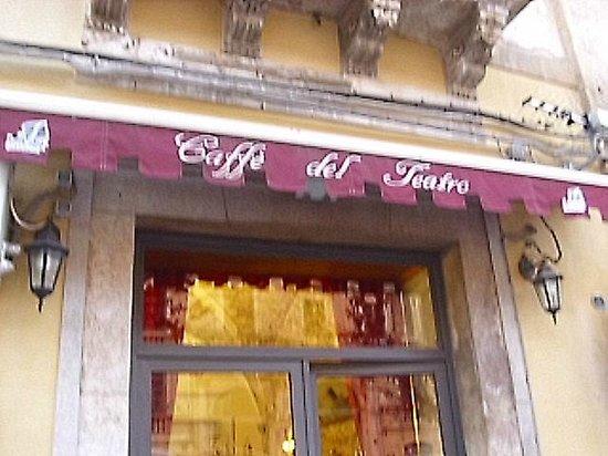 Caffe' del Teatro: Sign