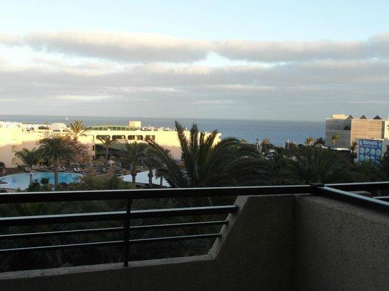 Occidental Lanzarote Mar : la vue du balcon