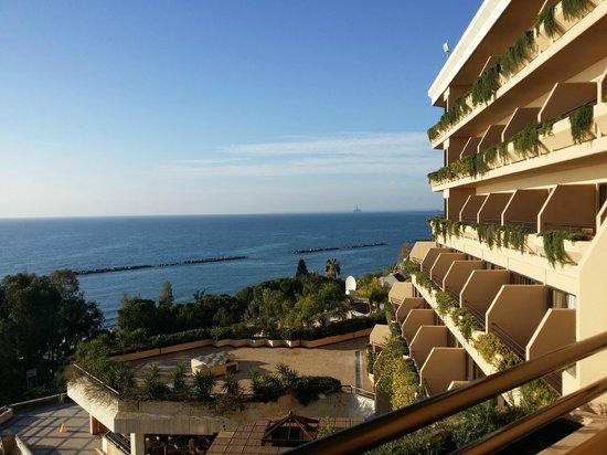 Four Seasons Hotel: vue de la chambre
