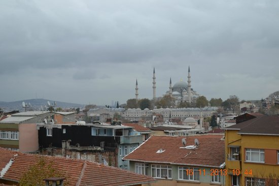 The Suite Istanbul : view from window
