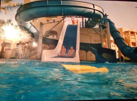 Rixos Sharm El Sheikh : Great fun on the slides
