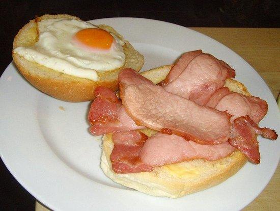 Broughton Village Bakery & Cafe: Bacon & Eggs Barm