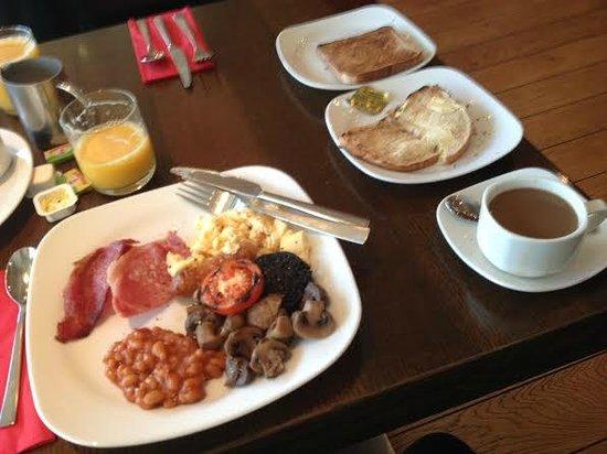 Park Inn by Radisson Aberdeen: Cooked Breakfast