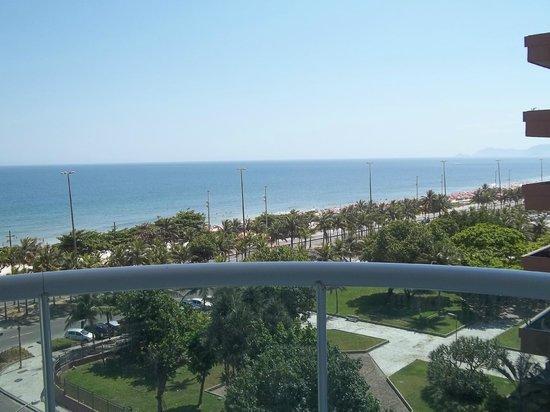 Sheraton Barra Rio de Janeiro Hotel : Vista do quarto de frente para o mar! Vista perfeita!