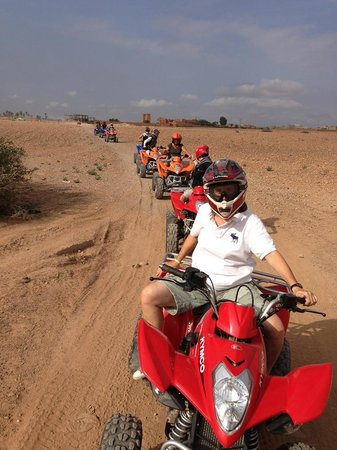 Marrakech Quad Evasion