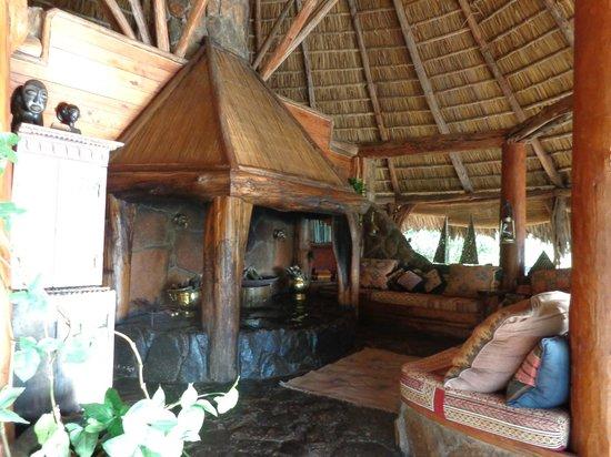 Mukutan Retreat : The fireplace