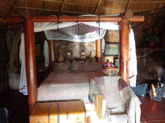 Mukutan Retreat : The royall king size bed