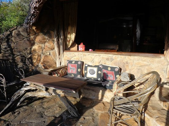 Mukutan Retreat: Your private balcony seat