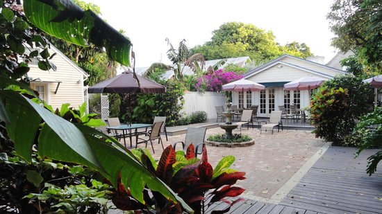 garden picture of the duval house key west tripadvisor
