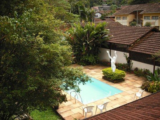 Sao Pedro da Serra: Quarto com vista p/ piscina