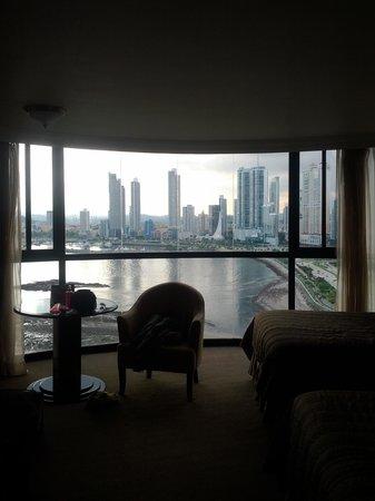 Plaza Paitilla Inn: room view.