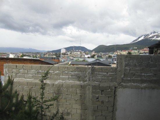 Hostel Aonikenk: vue de la chambre