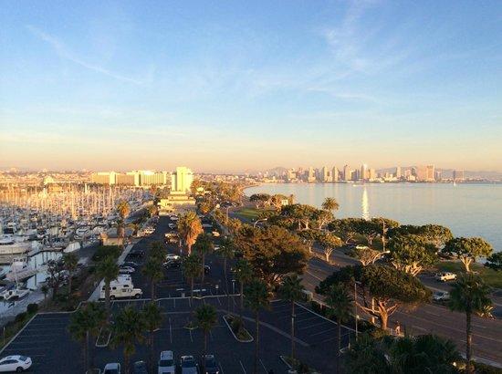Hilton San Diego Airport/Harbor Island: east-facing view.
