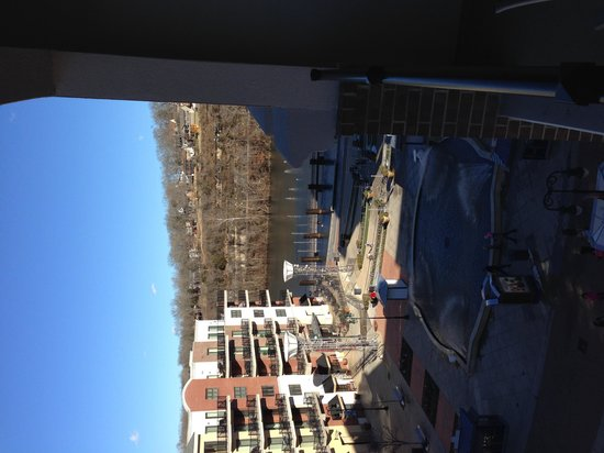Hilton Promenade at Branson Landing: Great view from room 509!