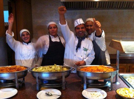 Hôtel Ras El Ain Tozeur : il Team delle cucine