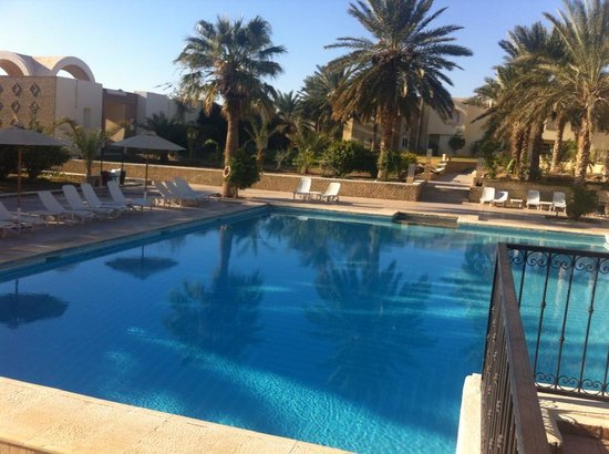 Hôtel Ras El Ain Tozeur : la piscina da sogno