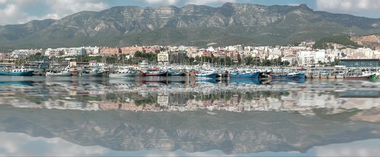 Hostal Agusti : panoramica de Sant Carles