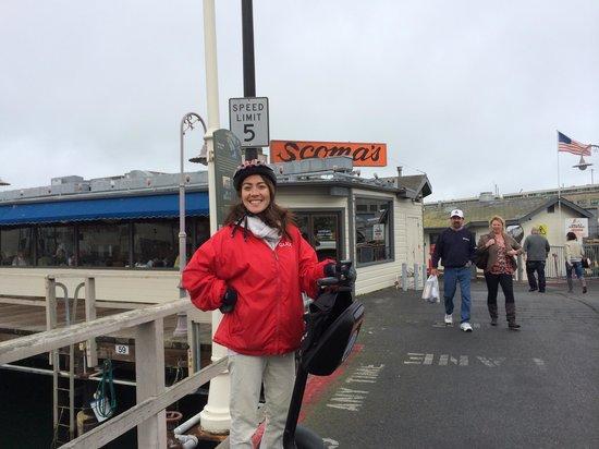 City Segway Tours San Francisco : Hana my guide
