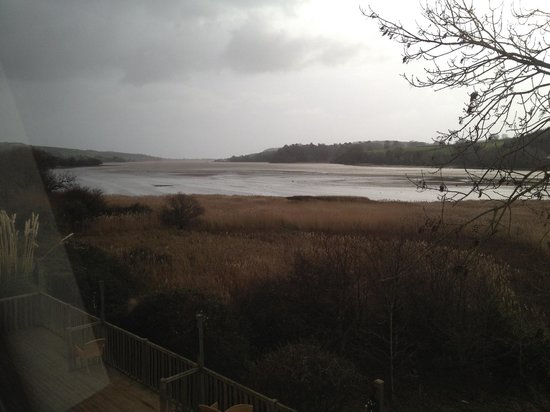 BEST WESTERN Passage House Hotel: View over the estuary