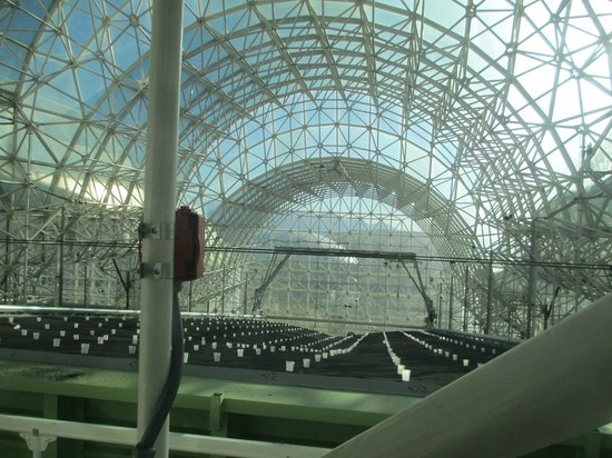 Biosphere 2: Looking inside at the current experiments
