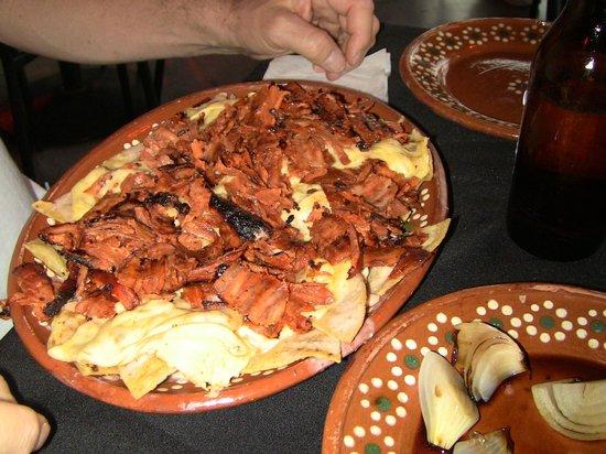 Pepe's taco: Pork Nachos
