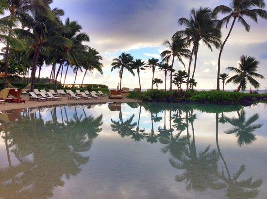 Grand Hyatt Kauai Resort & Spa : Salt water lagoon